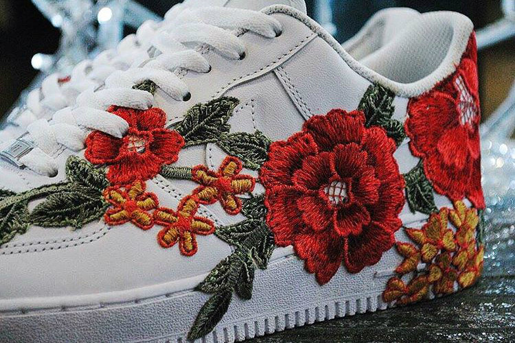 Nike Air Force 1 Is Flower-Bombed Into