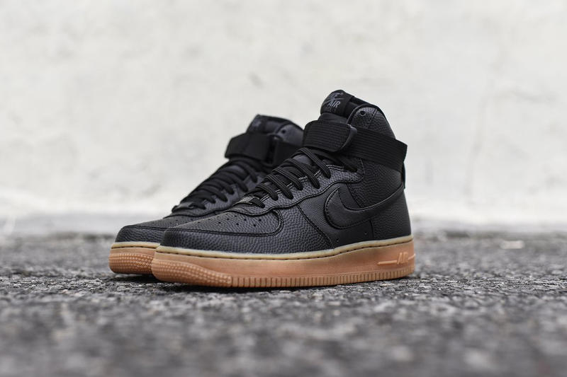 Nike Air Force 1 SE Black Maroon