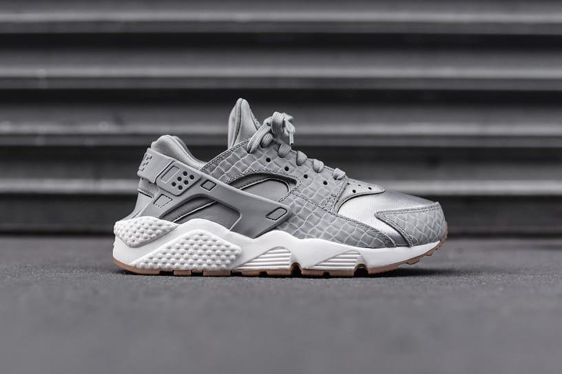 Nike Air Huarache Run Premium Wolf Grey
