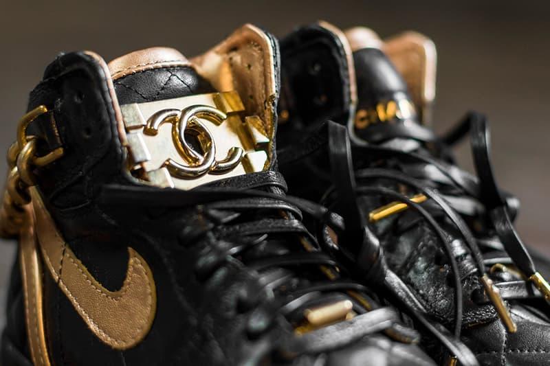 Nike Air Jordan 1 Chanel Bag Shoe Surgeon