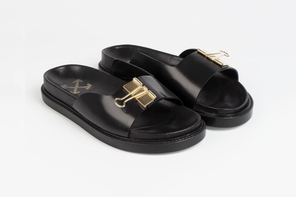 OFF-WHITE Binder Clip Sandals