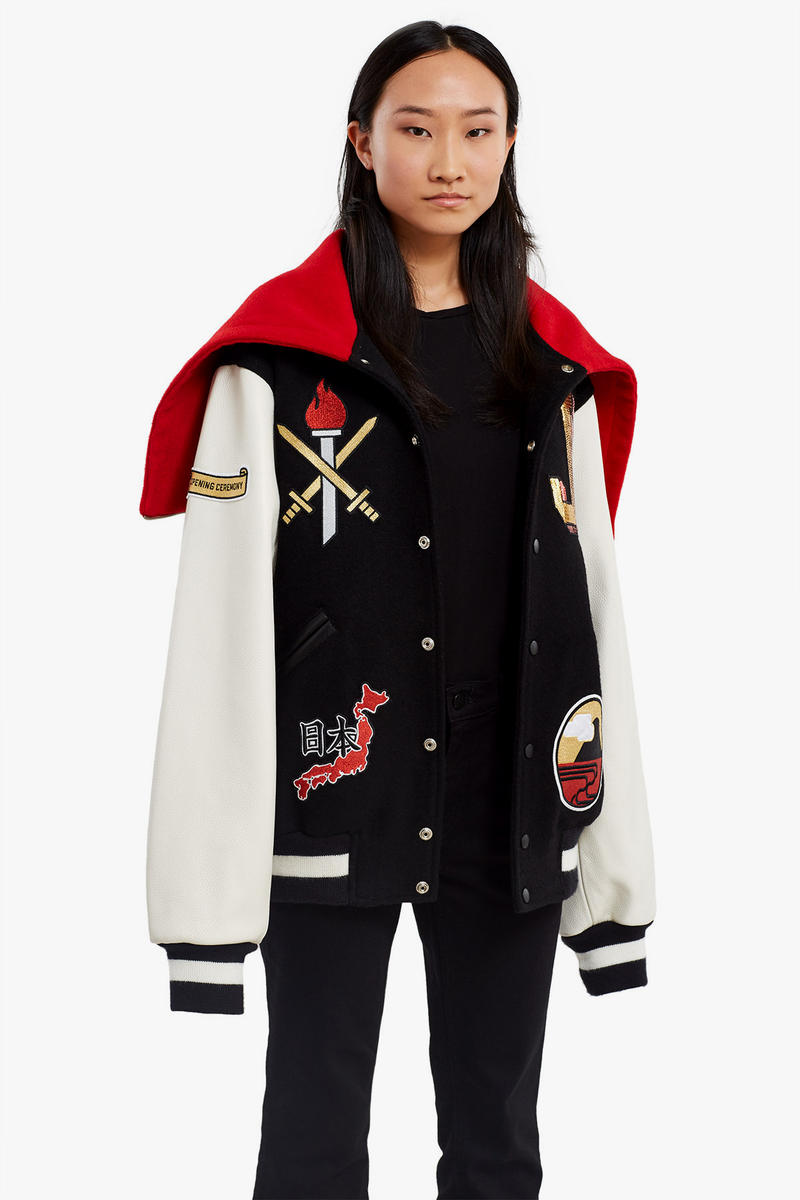 Opening Ceremony Global Country Varsity Jacket