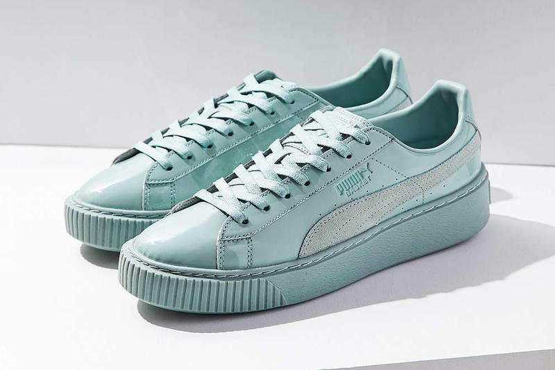 best service 8600d 0b3dd PUMA Gives the Basket Platform the Pastel Patent Leather ...