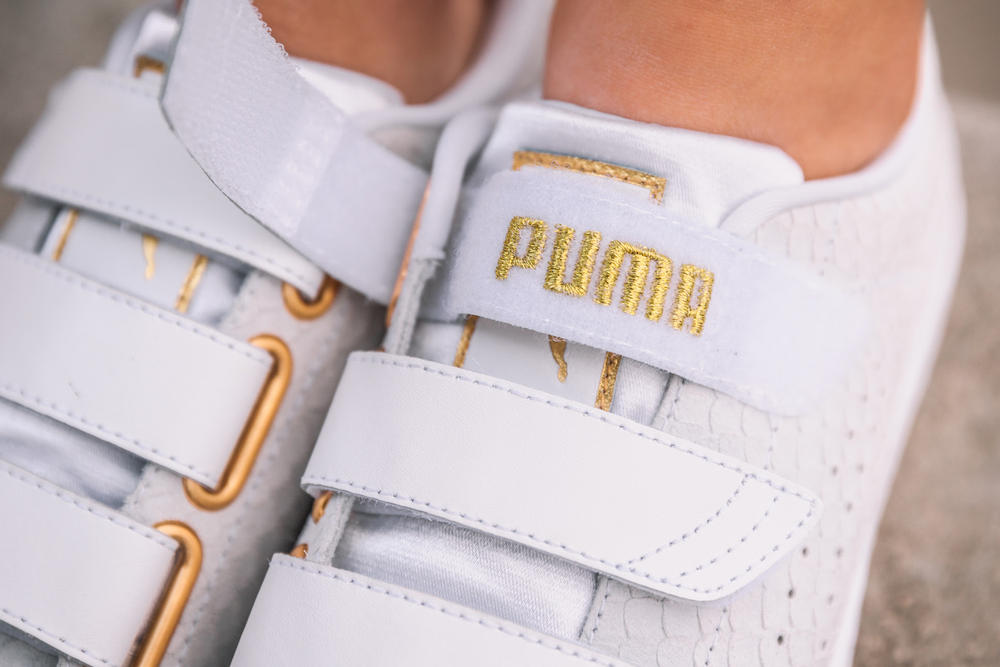 the latest 60948 e7d4c PUMA's New Basket Strap Is Made With Exotic Skin | HYPEBAE