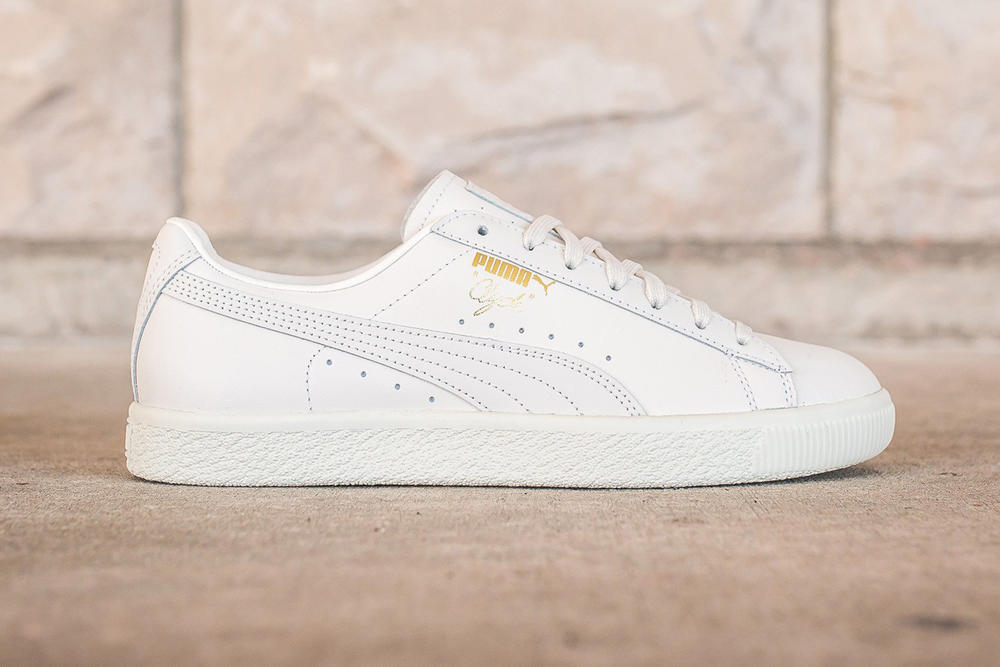 PUMA Clyde Natural Pack White Vachetta Black