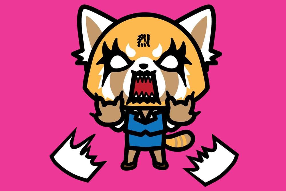 Sanrio Aggretsuko Red Panda