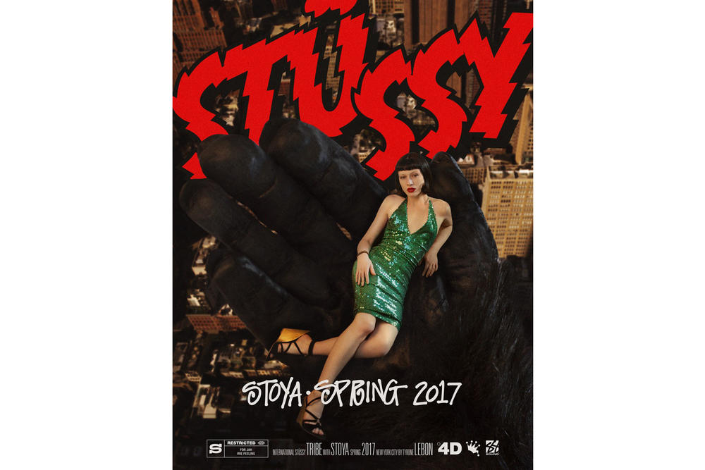 Stussy 2017 Spring Campaign Tyrone Lebon New York