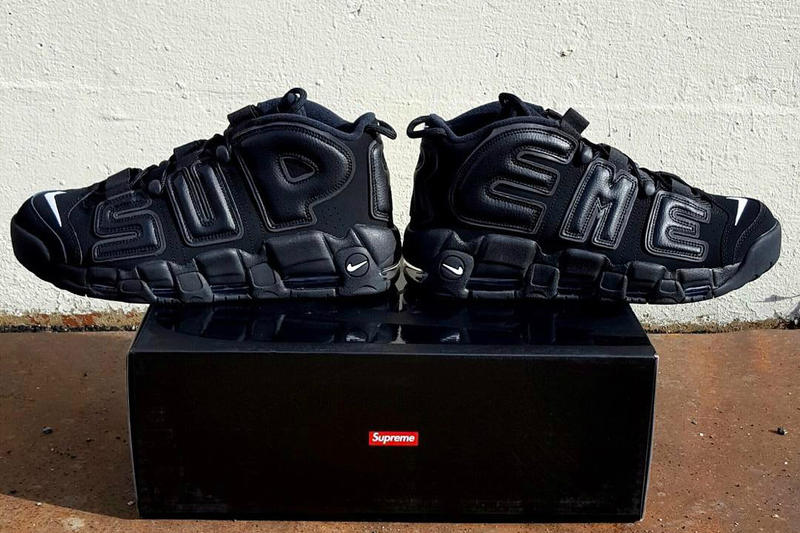 dadbf86b934a First Look Supreme x Nike Air More Uptempo Suptempo