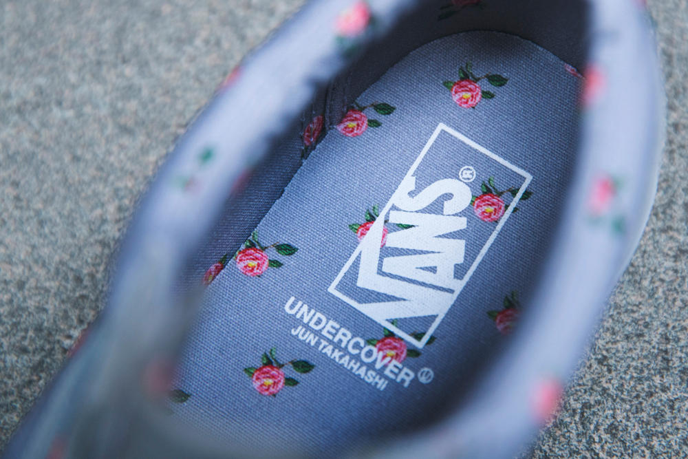 9a204e2897 UNDERCOVER Blossoms on Vans Vault Collaboration