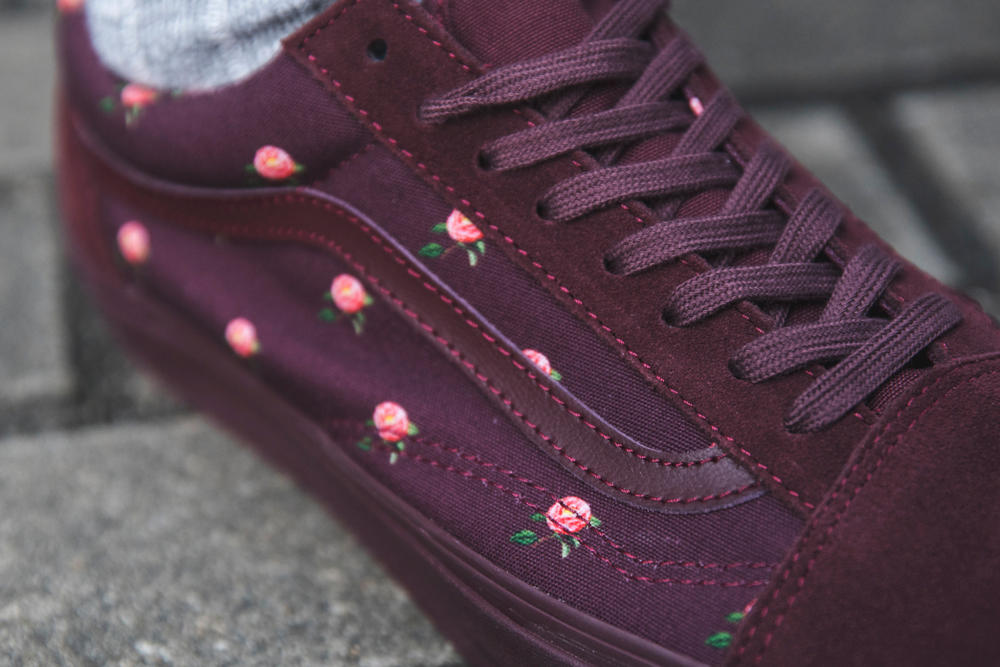481cf9570f9686 UNDERCOVER Blossoms on Vans Vault Collaboration