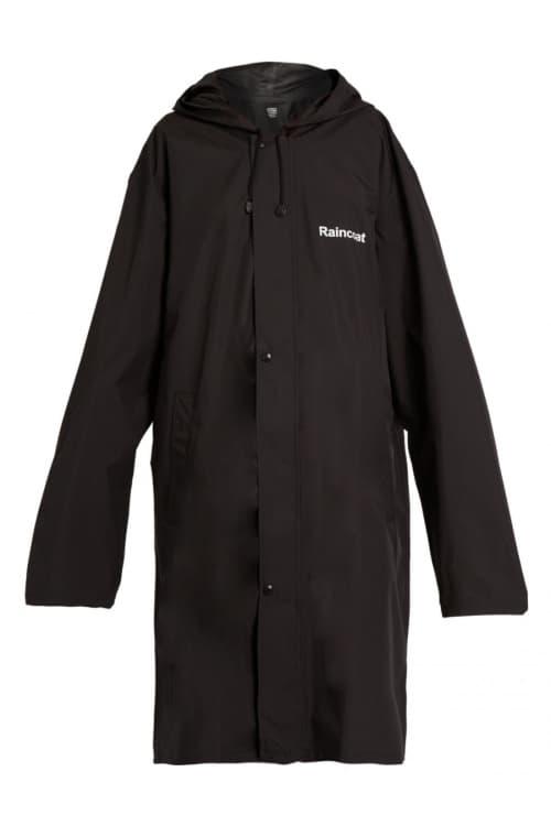 Vetements Official Fake Raincoat MATCHESFASHION
