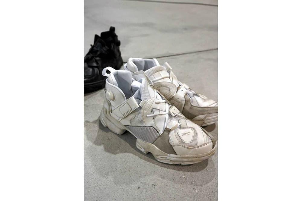 Vetements x Reebok 2017 Fall/Winter Sneaker