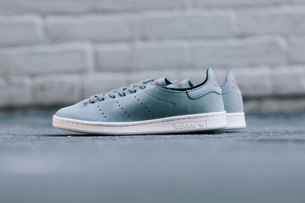 adidas Originals Stan Smith Leather Sock Trace Cargo White
