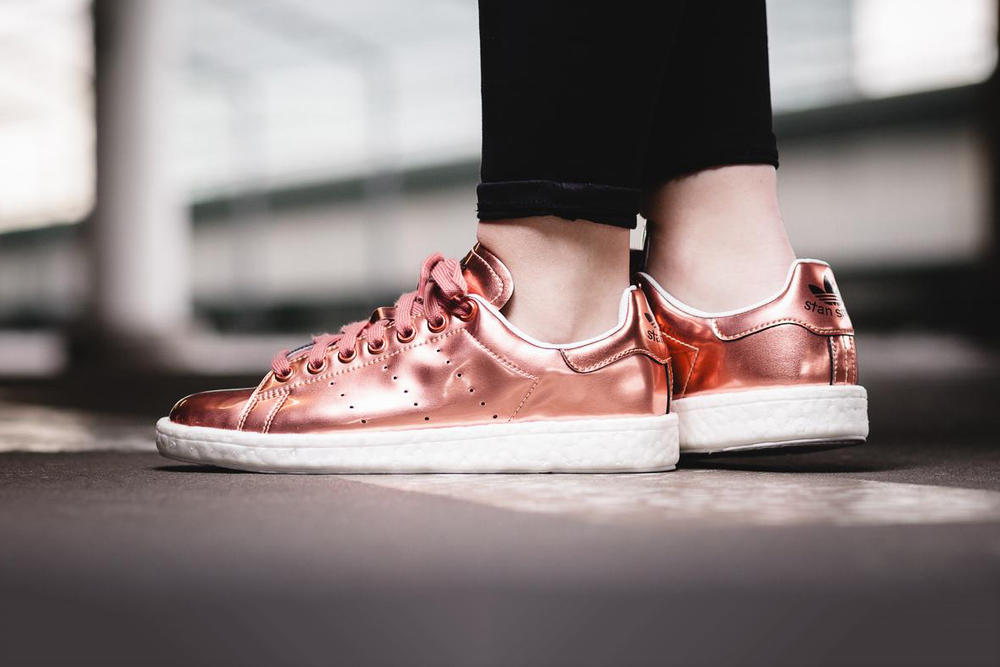 71a26e26972574 adidas Stan Smith BOOST Coppermet Rose Gold
