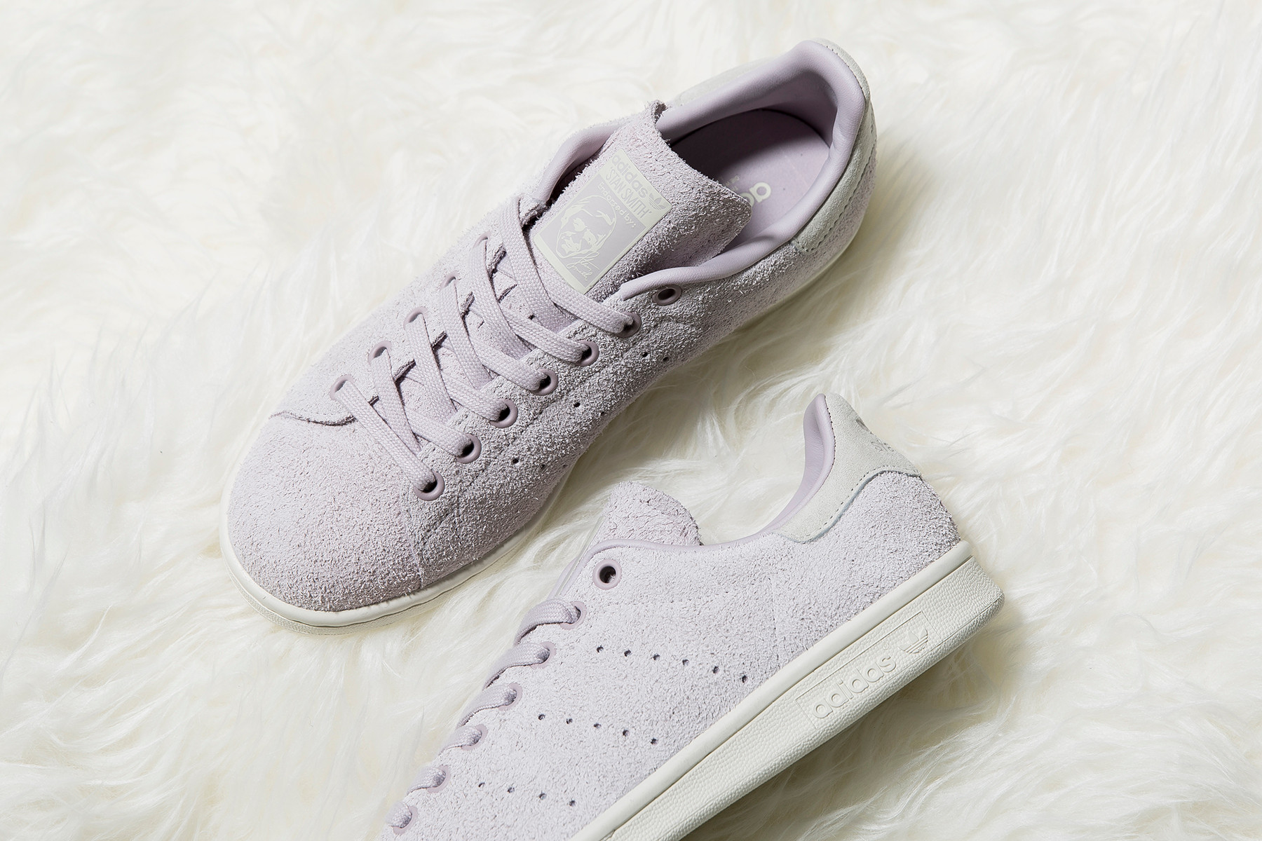 Stan Smith Hairy Suede Ice Purple
