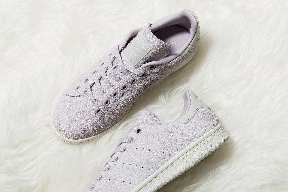 adidas Originals Stan Smith Hairy Suede Ice Purple