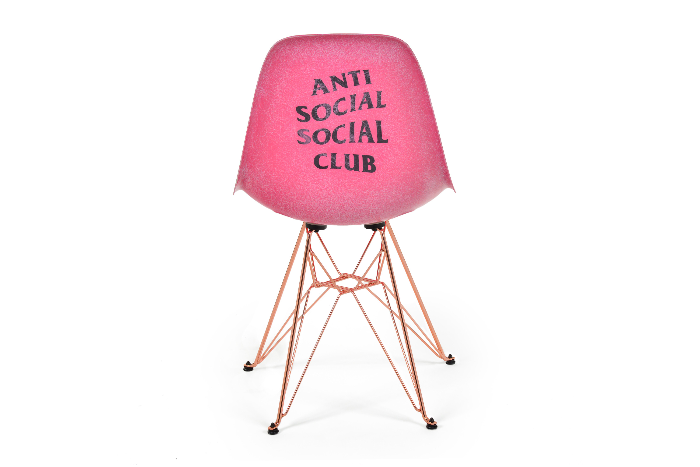 Anti Social Social Club x Modernica Debut a Pink Chair Collaboration | HYPEBAE  sc 1 st  Hypebae & Anti Social Social Club x Modernica Debut a Pink Chair Collaboration ...
