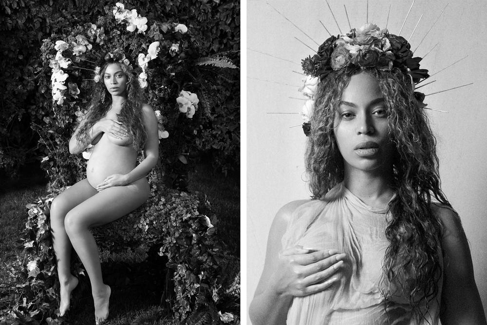 Beyonce Pregnant Twins Photoshoot