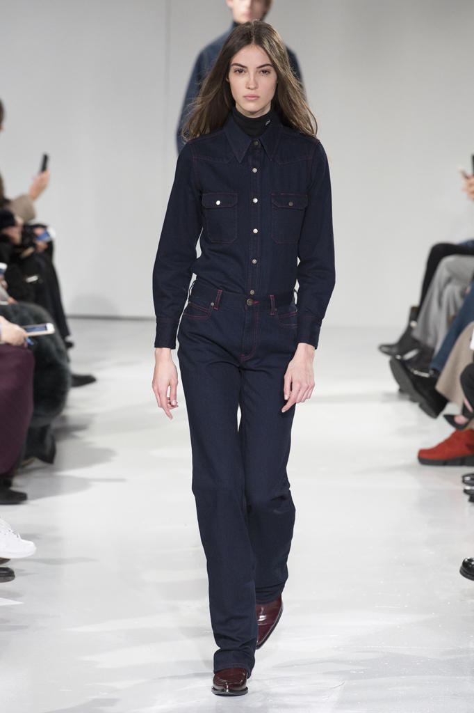 Raf Simons Calvin Klein NYFW 2017 Fall Winter Collection