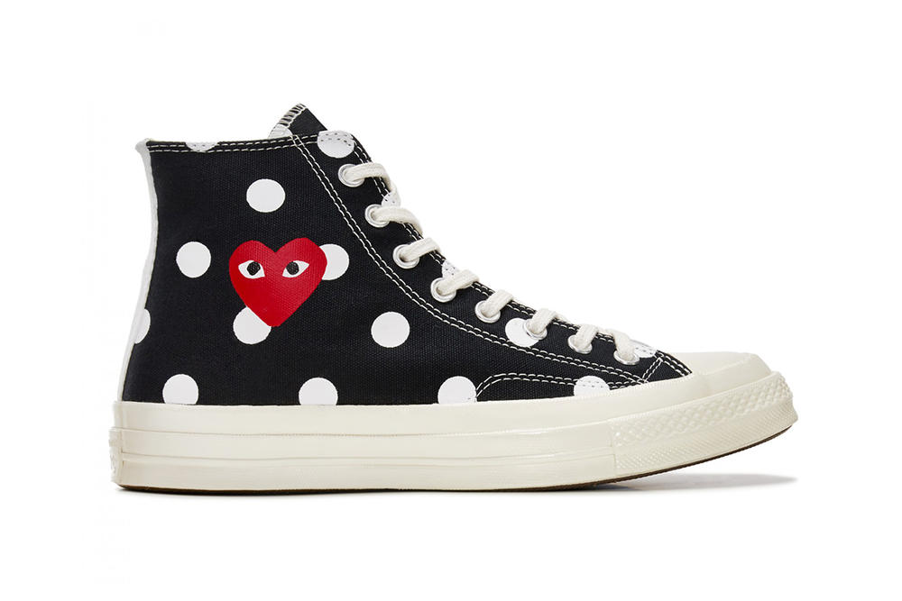 All Eyes Are on COMME des GARÇONS x Converse s Chuck Taylor  70