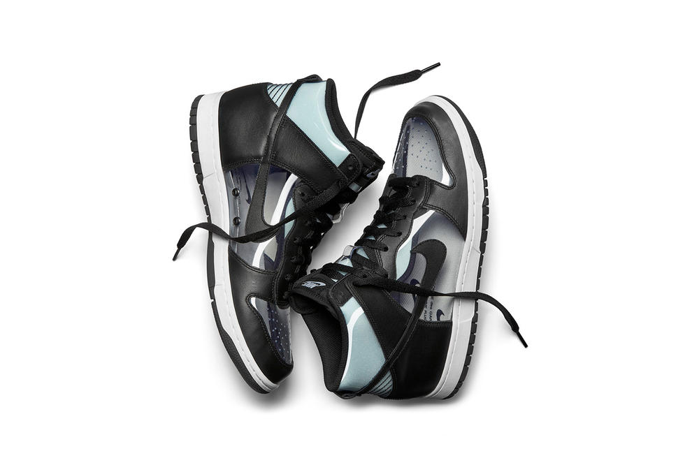 COMME des GARÇONS x NikeLab Dunk Hi Retro Clear