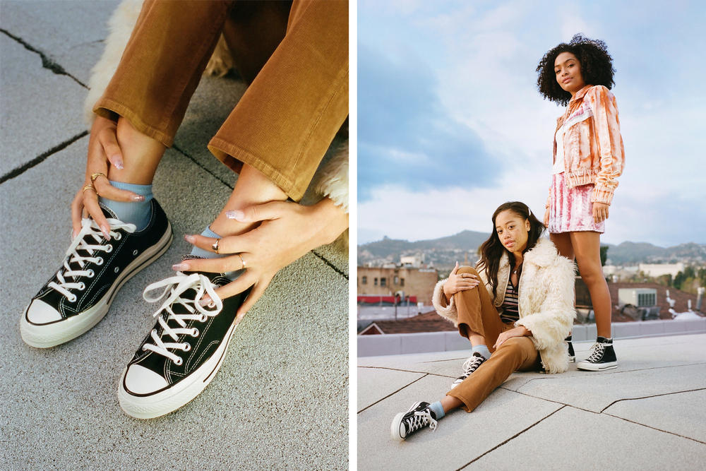 Yara Shahidi and Salem Mitchell Star in Converse s Chuck Taylor All ... 1408a45e9