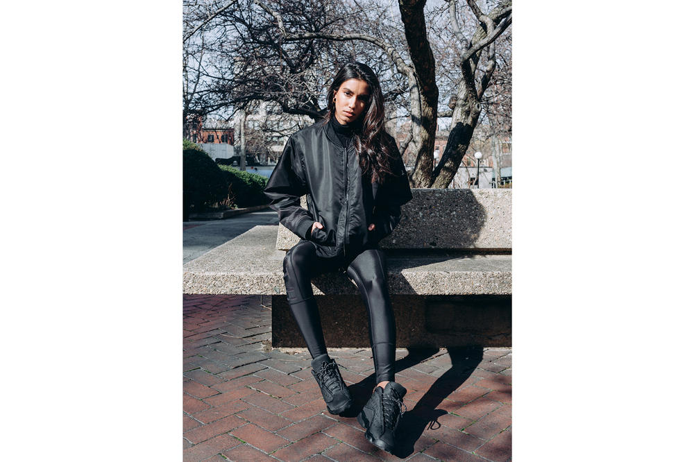 Emily Oberg KITH Women's Astor Bomber Lookbook