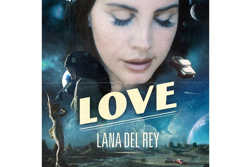 Lana Del Rey LOVE 2017 Single