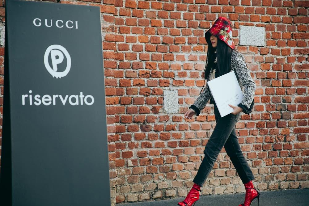 Milan Fashion Week 2017 Street Style Gigi Hadid Hari Nef