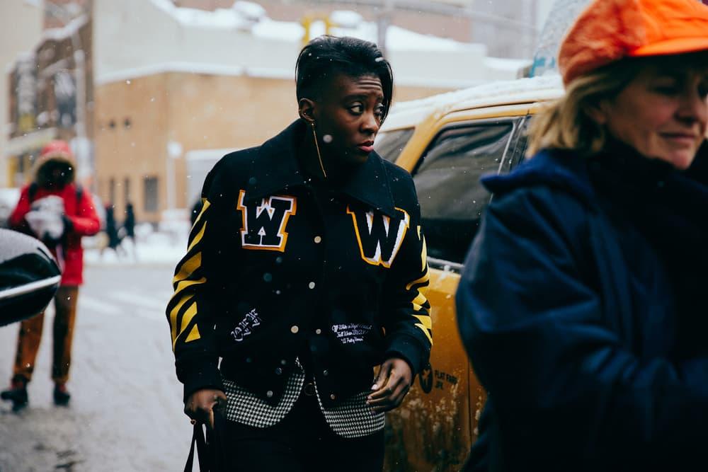New York Fashion Week 2017 NYFW Streetsnaps Street Style
