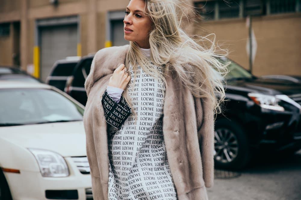 New York Fashion Week Streetsnaps Street Style 2017