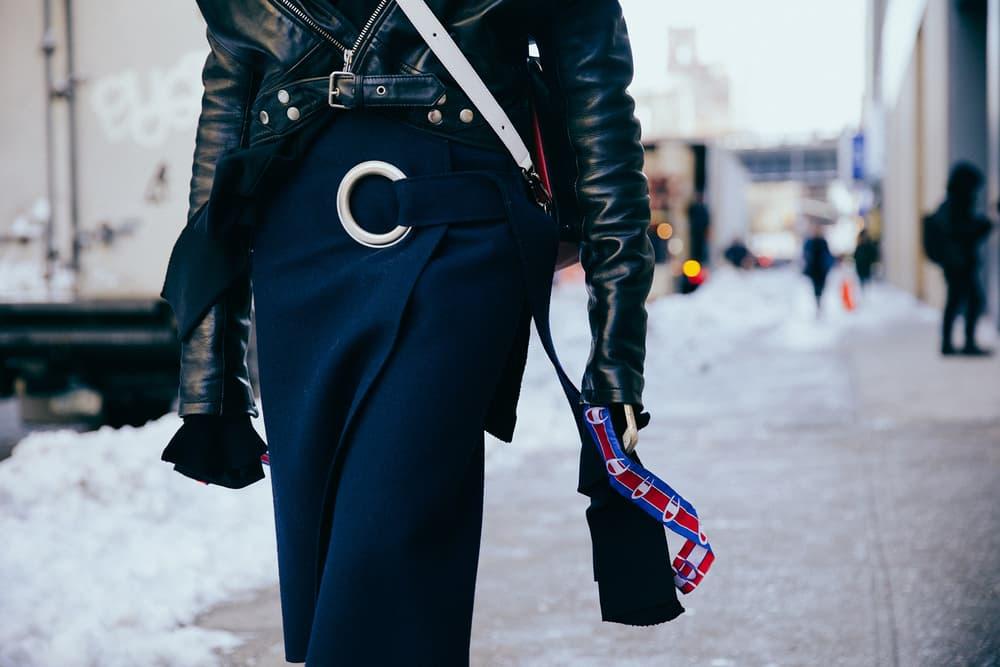 NYFW Streetsnaps New York Fashion Week 2017