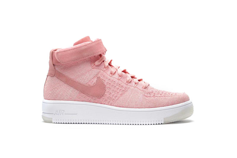 Nike Air Force 1 Flyknit Rose
