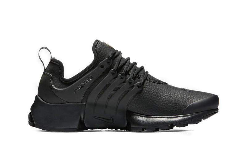 60af2dccf6db Nike Drops the Nike Air Presto Premium in Black Out