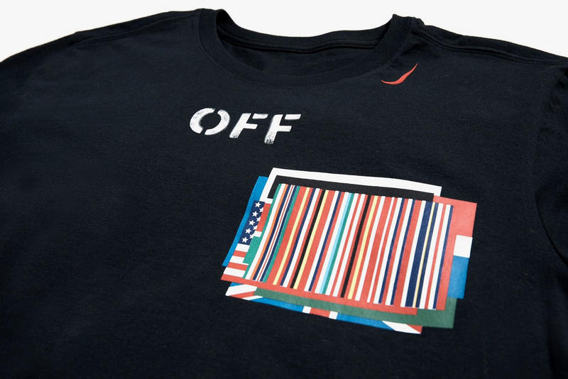 OFF-WHITE Virgil Abloh Nike Equality T Shirt