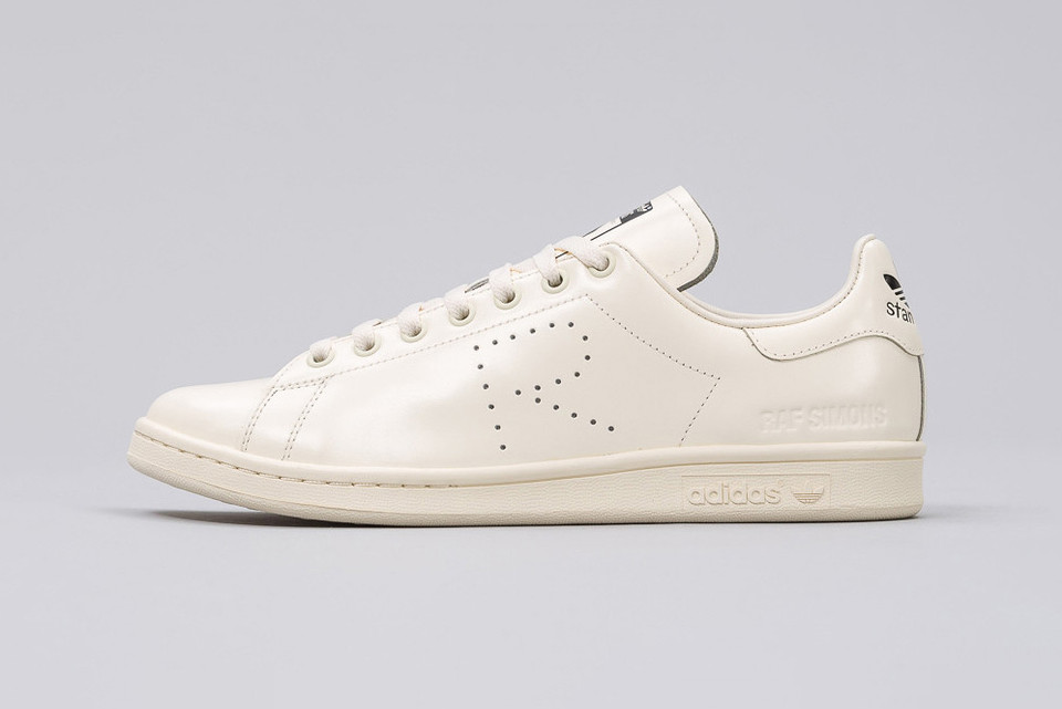 f1d4942fb7d58 The Raf Simons x adidas Stan Smith Gets a Creamy Makeover