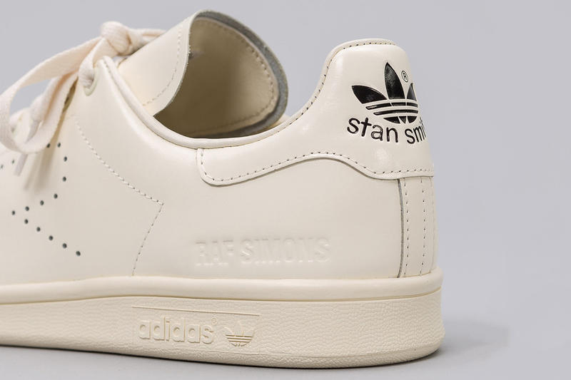Raf Simons adidas Stan Smith Cream White