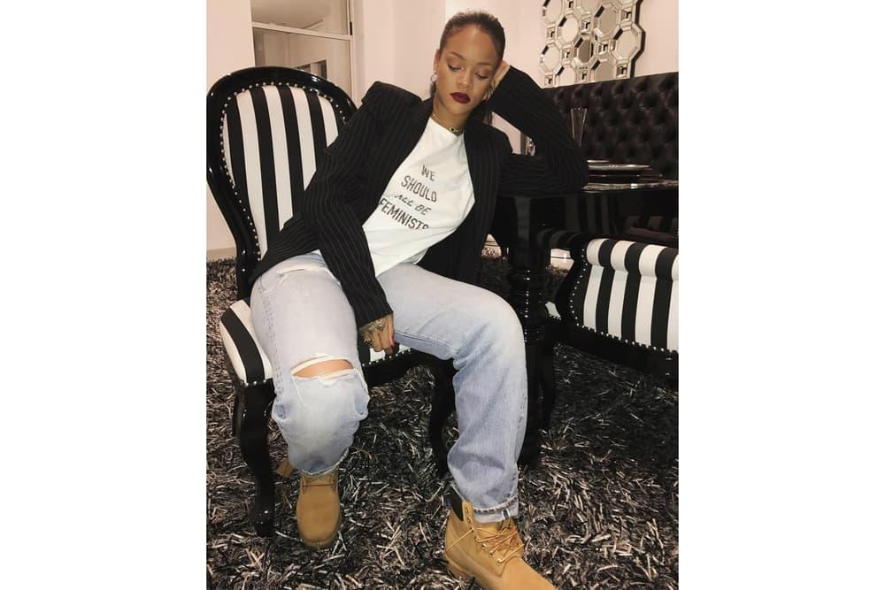 Rihanna We Should All Be Feminists Dior Shirt
