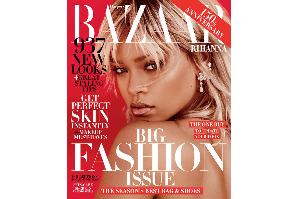 Rihanna Harper's Bazaar 2017 March Anniversary Issue