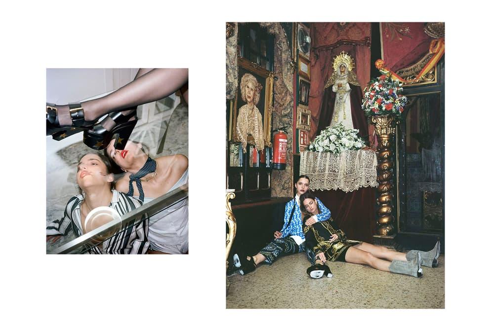 SSENSE Seville Editorial Maxime Ballesteros