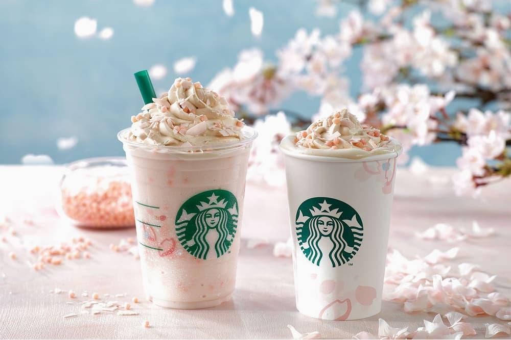 Starbucks Sakura Japan Cherry Blossom Drinks