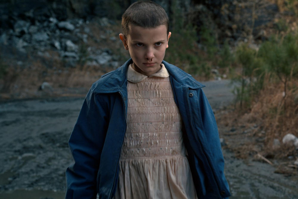 Stranger Things Season Two Millie Bobby Brown Entertainment Weekly