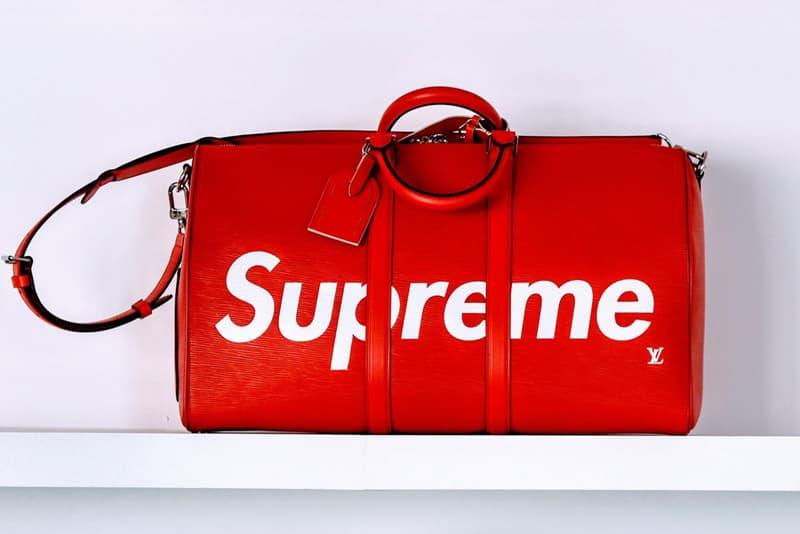 Supreme X Louis Vuitton 2017 Fall Winter Bag