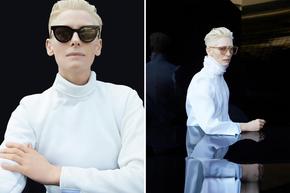 Tilda Swinton Gentle Monster Eyewear Collaboration