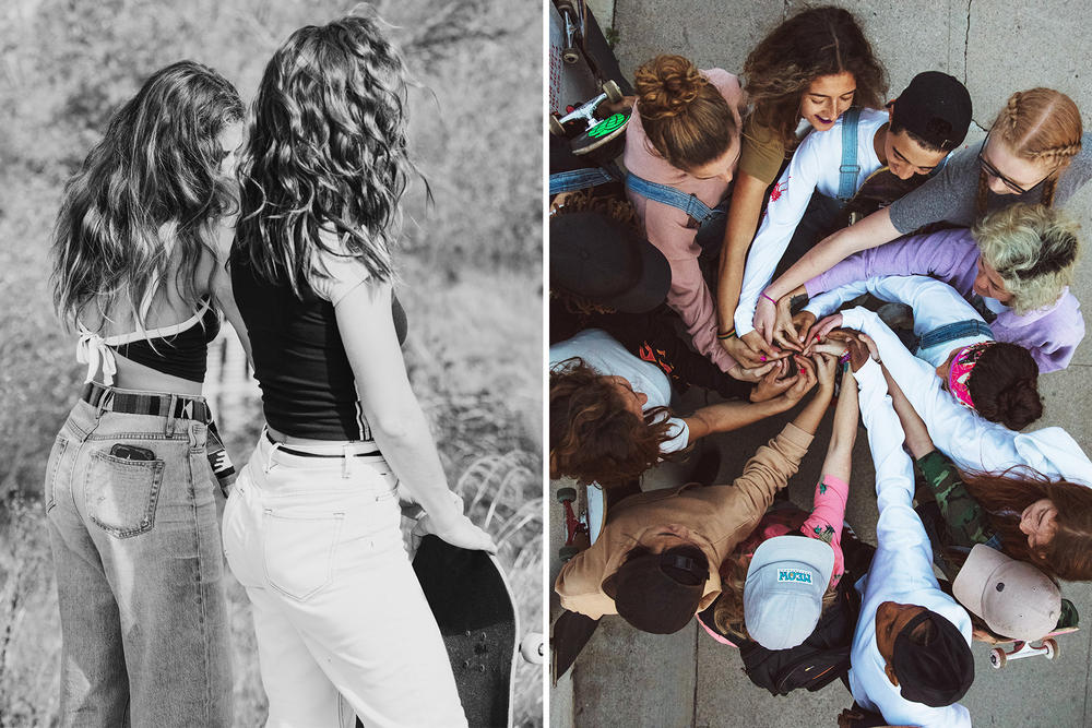 Urban Outfitters Skate Girls 2017 Spring Campaign