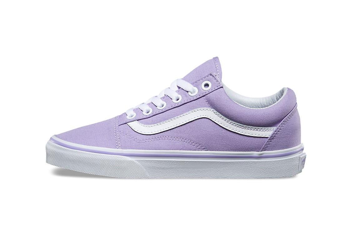 Vans Beckons Spring With a Lavender Old