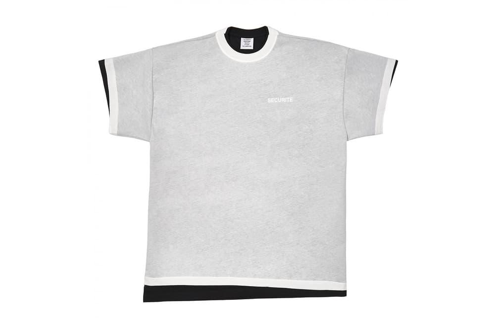 Vetements Securite Double T-Shirt