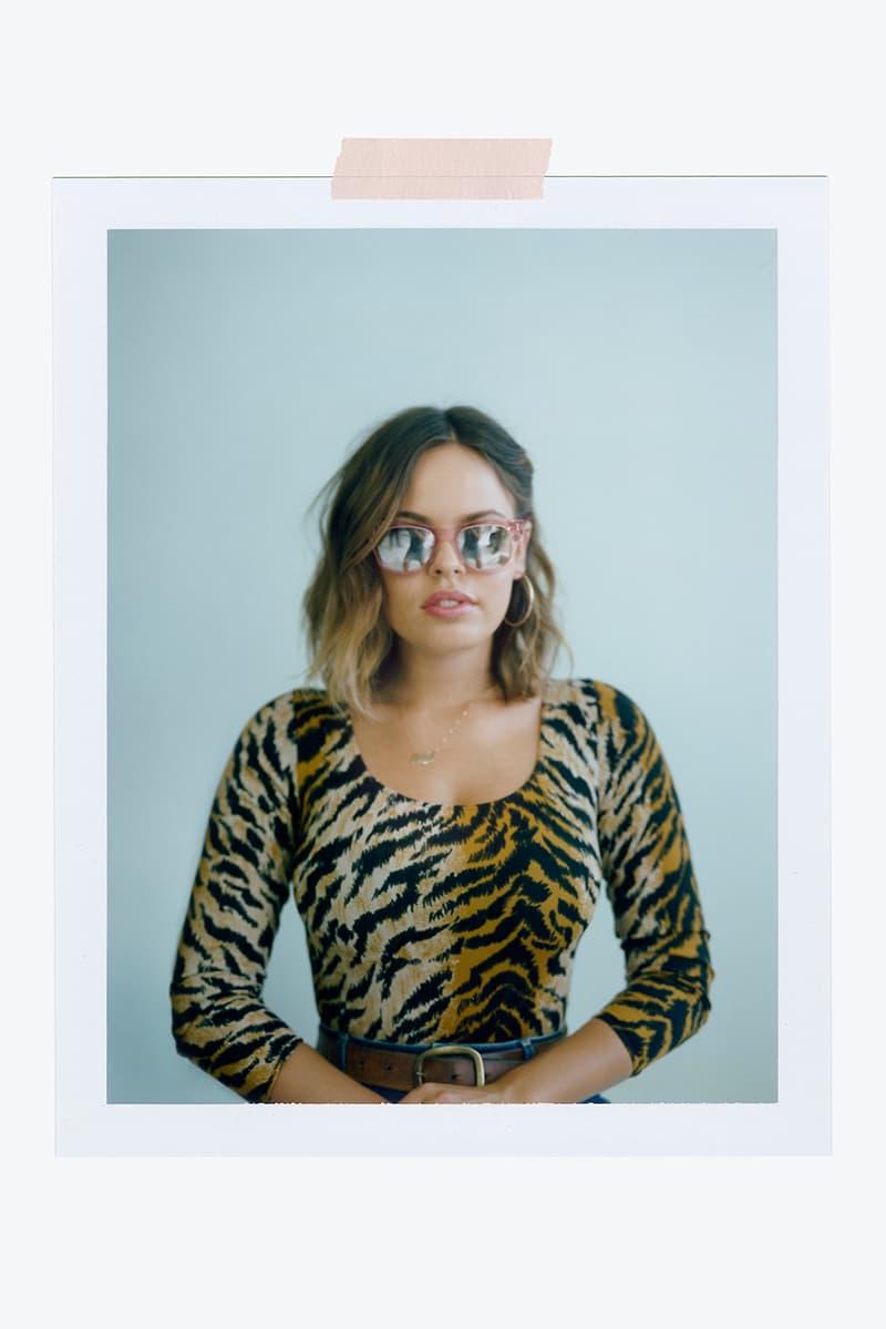 Amanda de Cadenet Warby Parker Eyewear Collaboration
