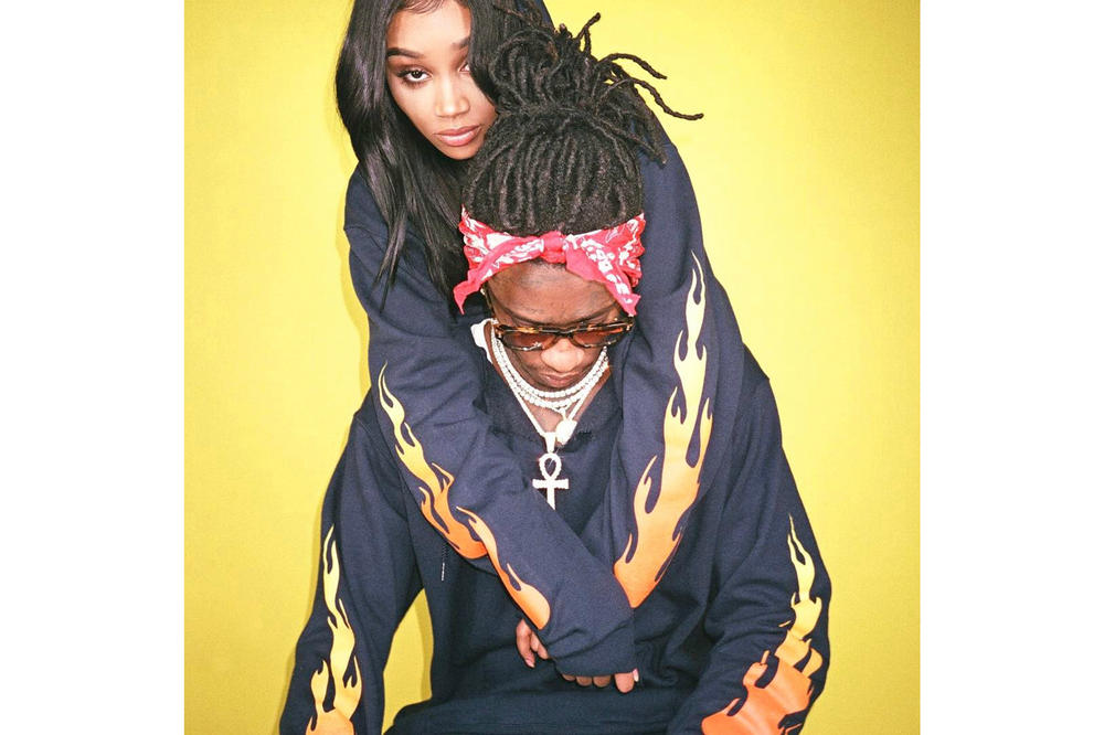 Kylie Jenner Young Thug Flame Hoodie