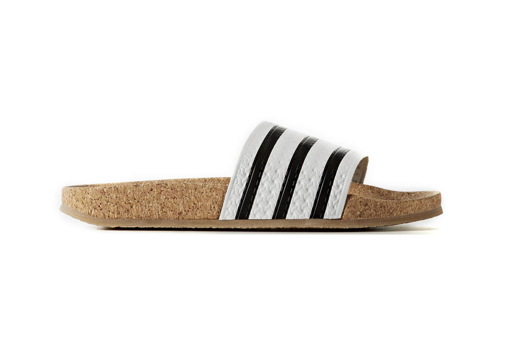 e71216d509e The adidas Adilette Cork Slides Are Summer Ready